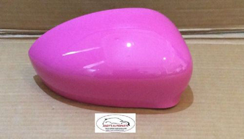 ABART 500,595,695 2015+ WING MIRROR COVER DRIVER IN BARBIE ROSA COLOUR CODE